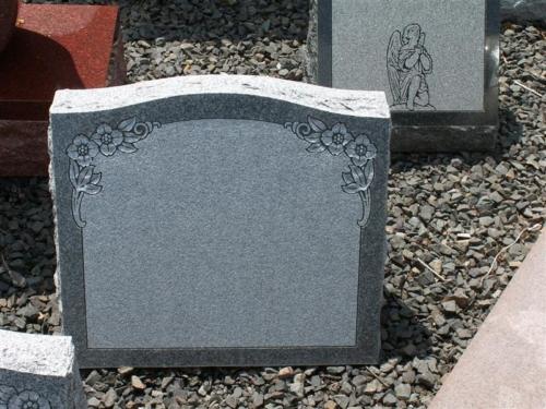 Slanted Face Marker - Headstone