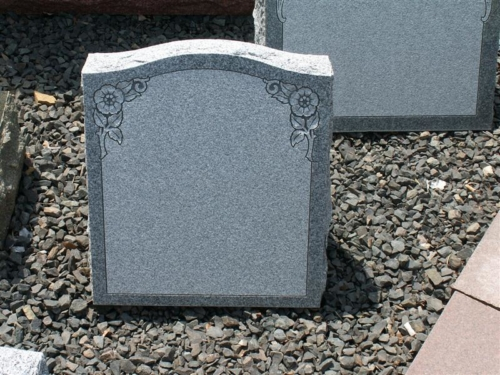 Slanted Face Marker - Headstone